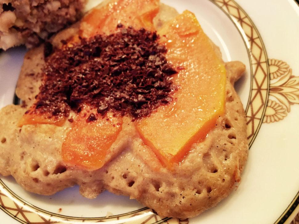 Kurzy vaření podle Metabolic Balance - Vločková paličinka s papájou
