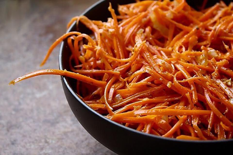 Kurzy vaření podle Metabolic Balance - pikantní mrkovový salát