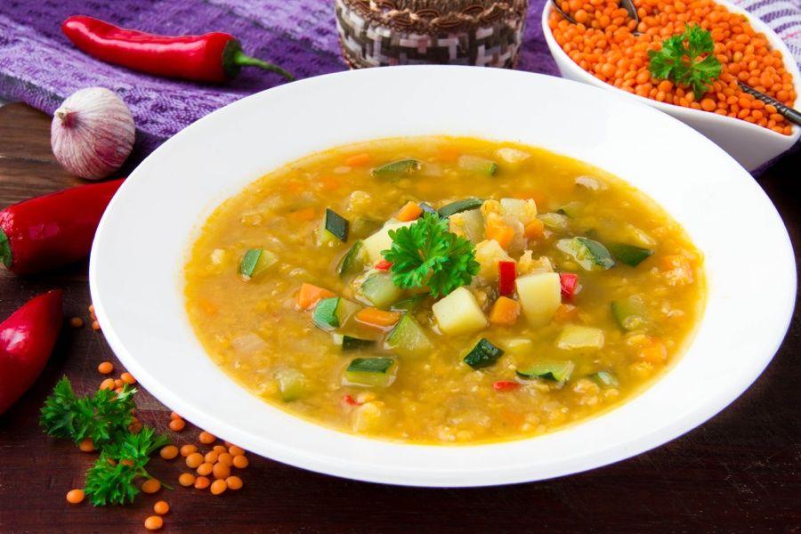 Kurzy vaření podle Metabolic Balance - polévka z červené čočky