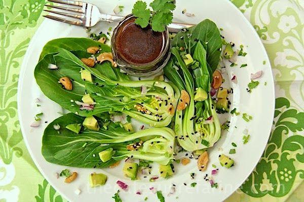 Pak-choi salát s balzamikem - recepty pro hubnutí_Metabolic Balance