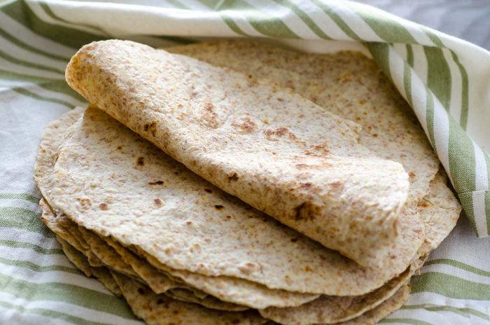 Tortilla ze žitné mouky podle Metabolic Balance