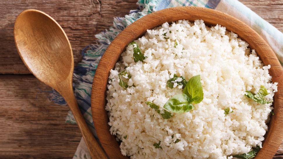 Květákový rýže podle Metabolic Balance