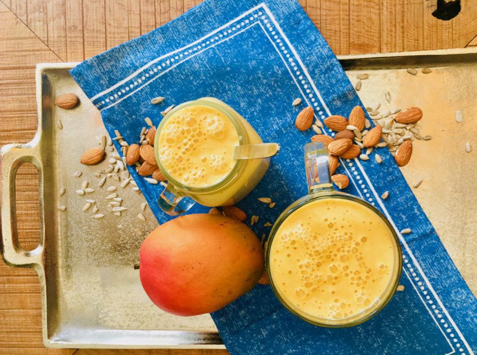 Mandlové mléko s mangem - kurzy vaření podle Metabolic Balance