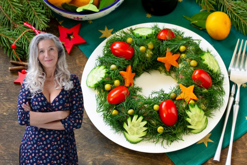 Vánoční salát, poradce výživy Metabolic Balance
